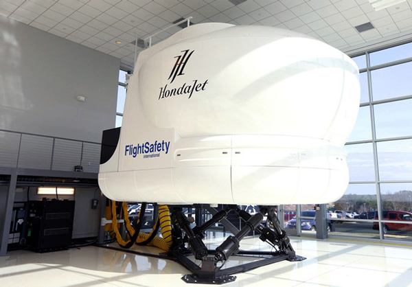 First HondaJet Simulator