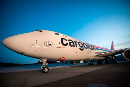 cargolux 12th boeing 747 8 delivered