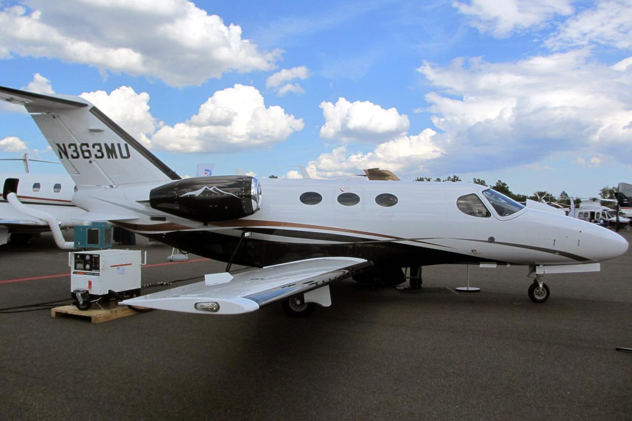 Cessna Citation Mustang High Sierra Edition Flyradius