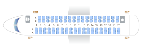 The Horizon Air Alaska Airlines Q400 Seat Map Seating Chart