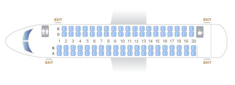 The Horizon Air Alaska Airlines Q400 Seat Map Seating Chart