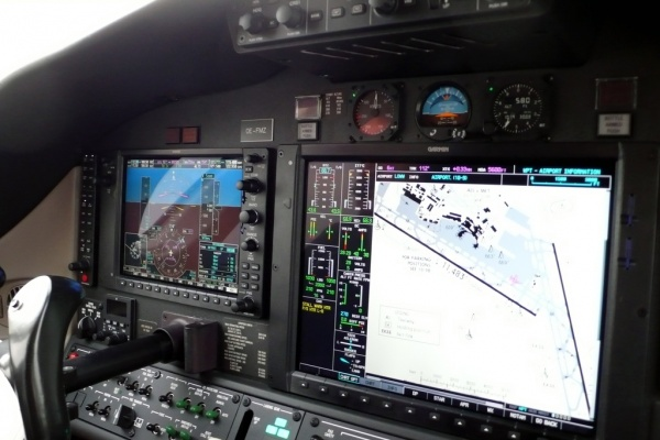 Cessna Citation Mustang Cockpit - Flight Deck Photo