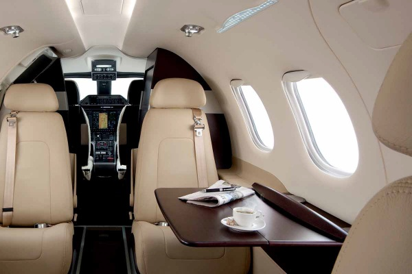 The Embraer Phenom 100 Interior - Topaz Collection