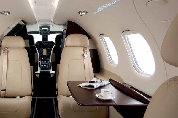 The Embraer Phenom 100 Interior - Topaz Collection