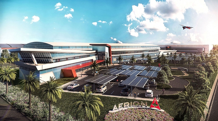 Aerion Corporation Aerion Park Headquarters in Melbourne Rendering