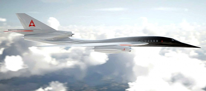 The Aerion AS2 supersonic jet