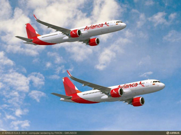 Avianca Holdings Orders 100 A320neo Jets