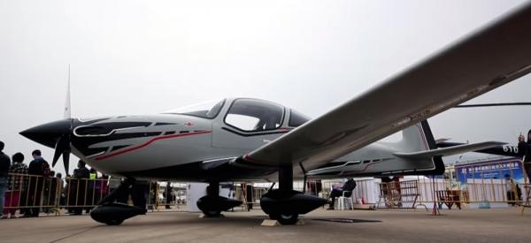 Mooney M10 Aircraft Mockup