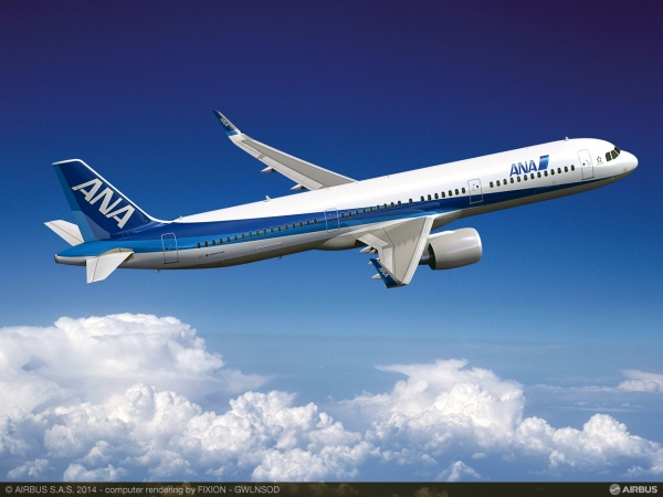 ANA Firms up 7 Airbus A321 Order