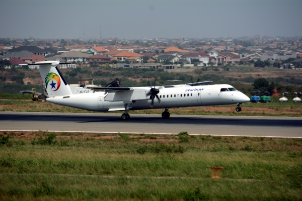 aero surveys limited starbow q400 operations started
