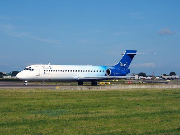 A Blue1 Boeing 717-200 Jet