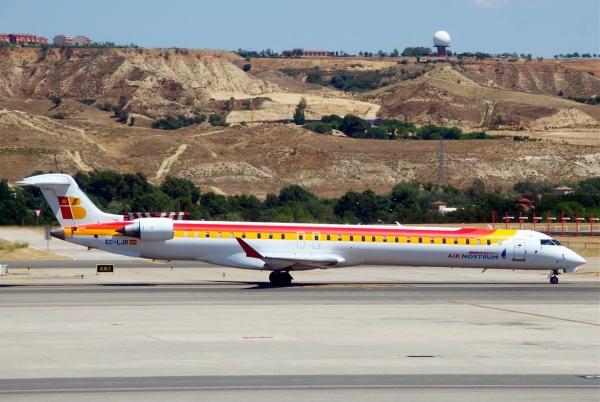 An Iberia Regional Bombardier CRJ1000 NextGen Jet