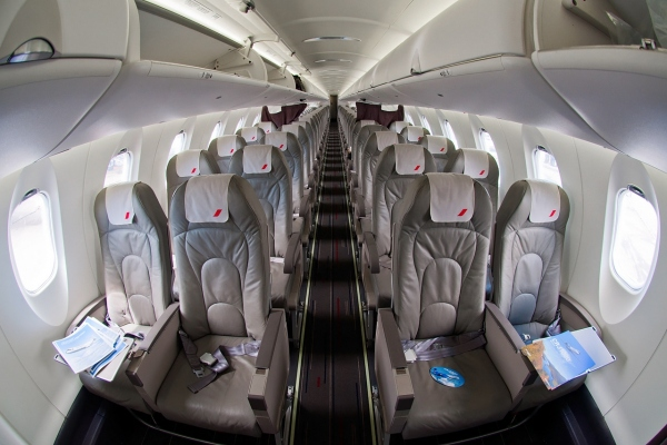 Bombardier CRJ1000 NextGen Interior - Cabin Photo