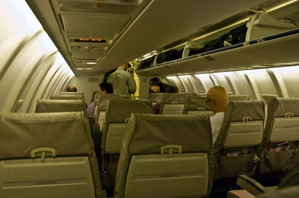 Bombardier CRJ200 Interior Cabin Photo
