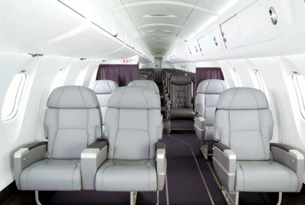 Bombardier CRJ700 Interior Photo