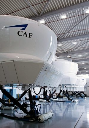 Bombardier CRJ900 Simulator CAE Photo