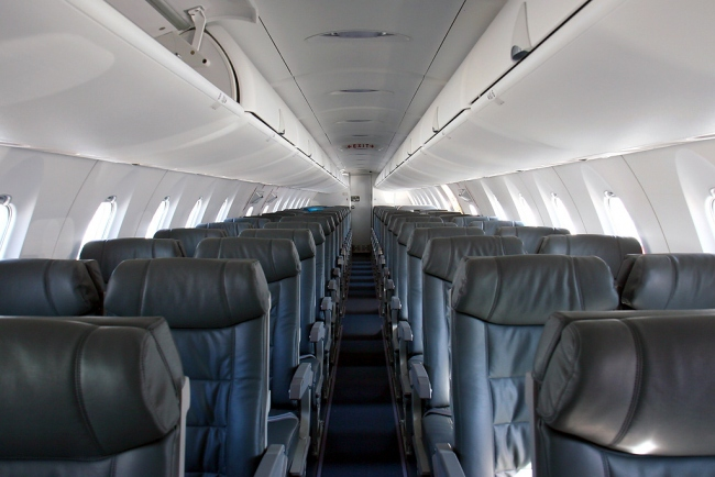 Bombardier CRJ900 Interior - Cabin Photo