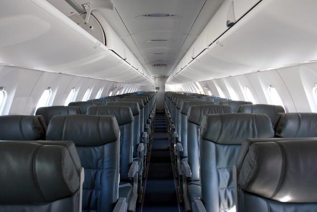 Bombardier CRJ900 Interior - Cabin Photo