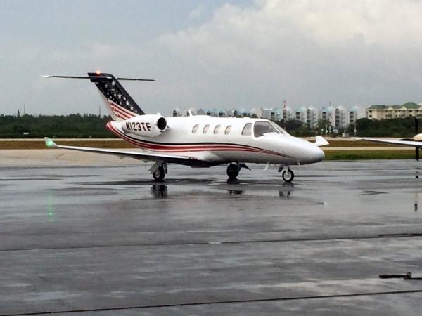 Cessna Citation M2 Fuel Burn Consumption Page Photo