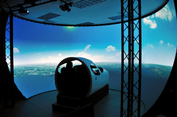 Cessna Citation Mustang Simulator Frasca Photo