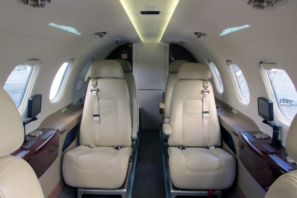The Embraer Phenom 300 Interior - Cabin