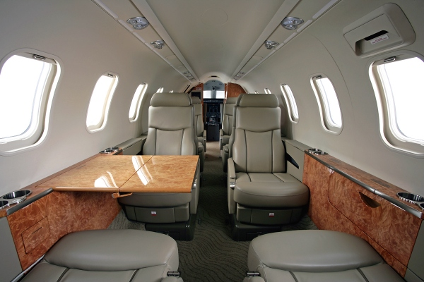 Learjet 45 Interior Cabin Photo