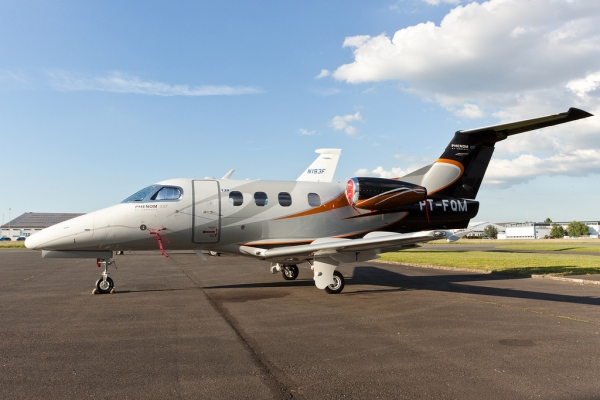 The Embraer Phenom 100 Aircraft Photo