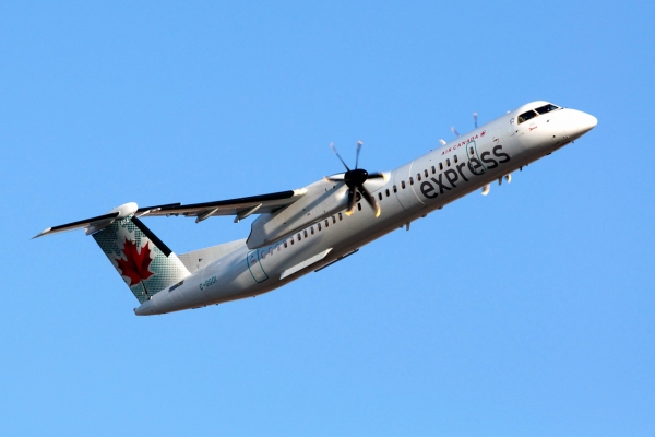 Air Canada Express Bombardier Q400 Turboprop Aircraft