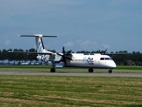 The Bombardier Q400 Flybe British European Aircraft Photo