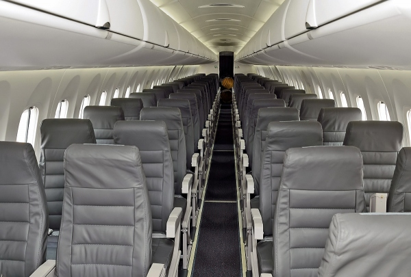 Bombardier Q400 Seating Photo