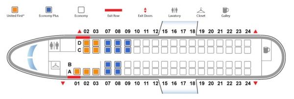 Bombardier Q400 United Airlines Seat Map First Class