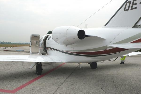 Cessna Citation Mustang Engine Photo
