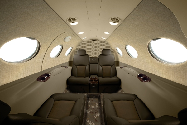 Cessna Citation Mustang High Sierra Edition Smoky Quartz Interior