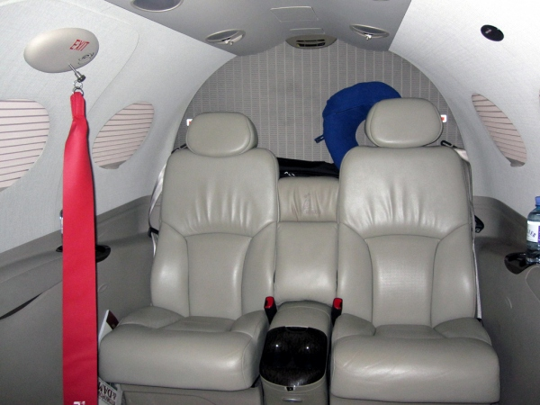 Cessna Citation Mustang Interior Cabin Photo