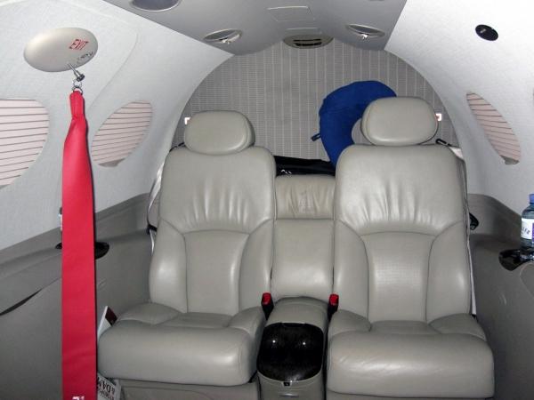Cessna Citation Mustang Interior Cabin Photo
