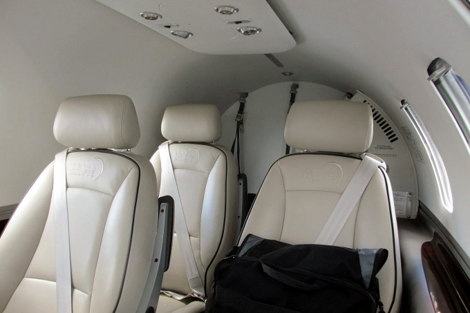 Eclipse 550 Interior - Cabin Photo