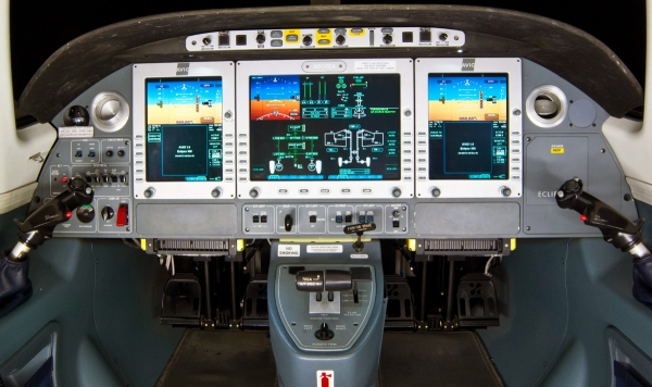 Eclipse 550 Simulator At SIMCOM