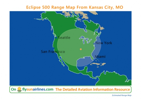 Eclipse 500 Range Map Photo