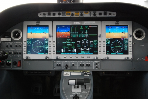 Eclipse 500 Type Rating Page Photo
