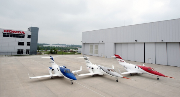 Hondajet FAA Certification Photo