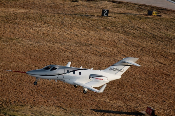 The First Conforming HondaJet in Flight - HondaJet For Sale