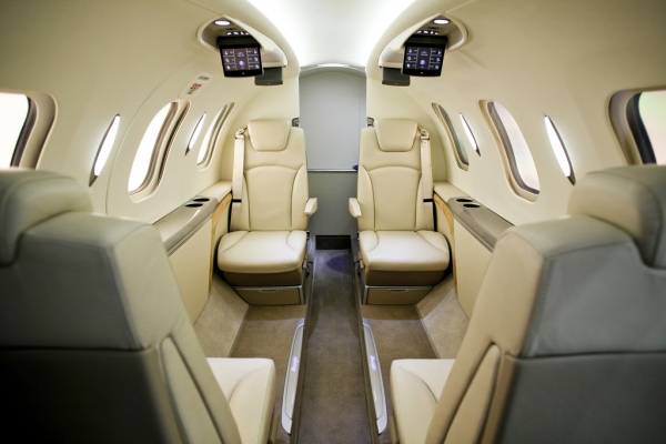 The HondaJet Interior