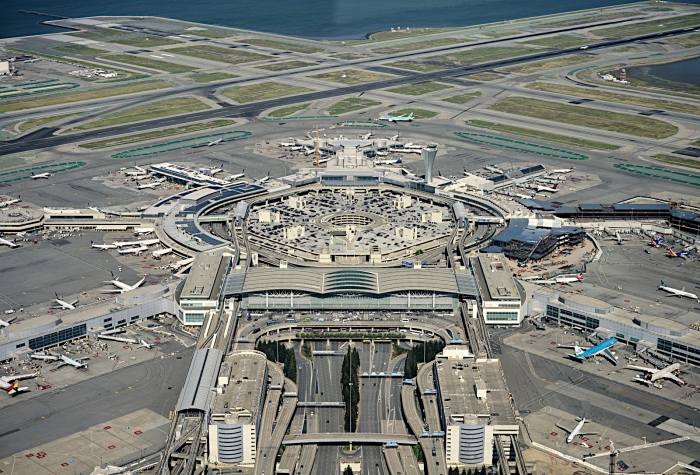 A photo of San francisco International Airport on our airline bailouts article